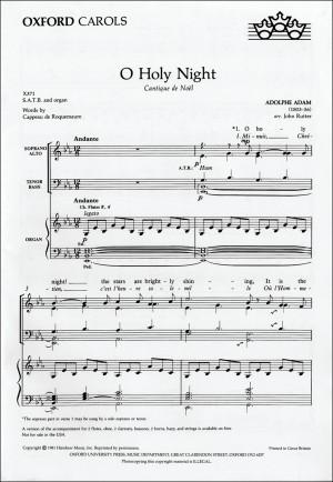 O Holy Night Free Printable