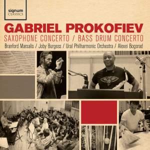 「GABRIEL PROKOFIEV / SAXOPHONE CONCERTO, BASS DRUM CONCERTO FEAT: BRANFORD MARSALIS」の画像検索結果
