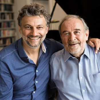 Jonas Kaufmann and Helmut Deutsch