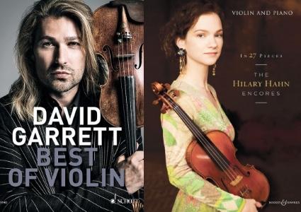 Hilary Hahn and David Garrett