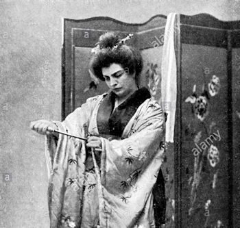 Rosina Storchio as Butterfly