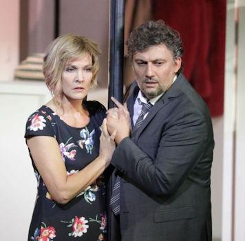 Jonas Kaufmann and Marlis Petersen
