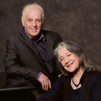 Daniel Barenboim and Martha Argerich