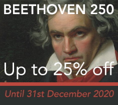 Beethoven 250th Anniversary - up to 25% off
