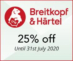Breitkopf & Härtel - 25% off