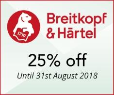 Breitkopf-  25% off