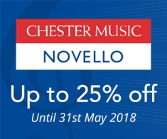Chester Novello - up to 25% off