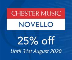 Chester Novello - 25% off