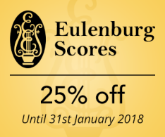 Eulenburg Scores - 25% off