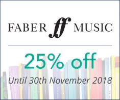 Faber Music -  25% off