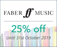 Faber- 25% off