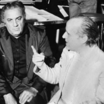 Federico Fellini and Nino Rota