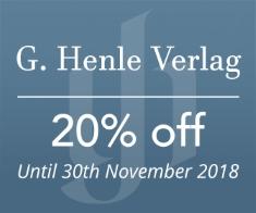Henle Verlag -  20% off