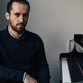 Igor Levit at the piano