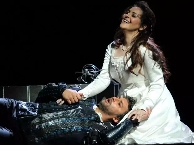 Jonas Kaufmann and Maria Agresta