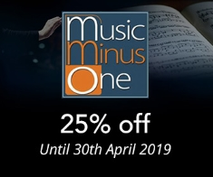 Music Minus One -  25% off