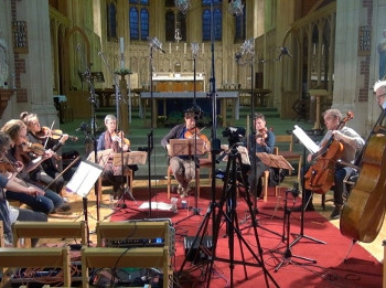 The Nash Ensemble recording Bruch's Octet