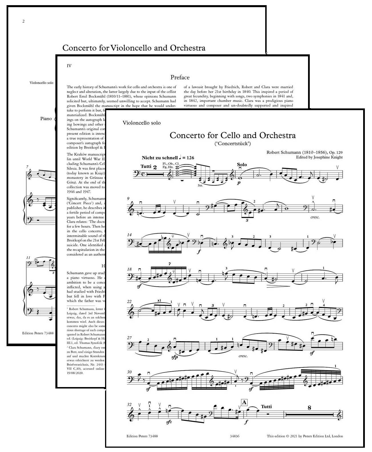 Schumann Cello Concerto