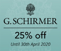 Schirmer - 25% off