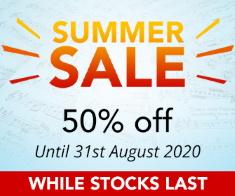 Summer Sheet Music Sale - 50% off