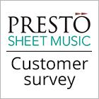 Presto Classical customer survey