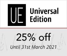 Universal Edition - 25% off