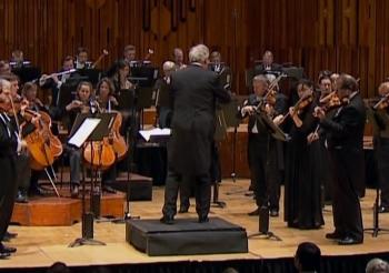 John Eliot Gardiner conducting the LSO