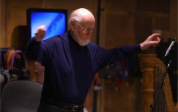 John Williams conducts Star Wars: The Force Awakens