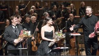 Michael Spyres, Joyce El-Khoury, and Mark Elder