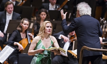 Sally Matthews, Simon Rattle, and the LSO