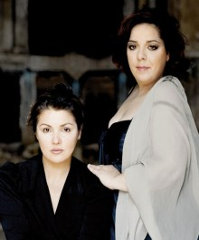 Anna Netrebko and Marianna Pizzolato