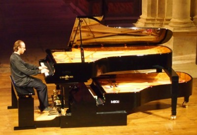 Roberto Prosseda and the pedal piano