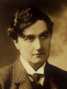 A young Ralph Vaughan Williams