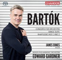 Bartók: Concerto for Orchestra&#x3B; Dance Suite&#x3B; Rhapsodies Nos. 1 & 2