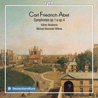Carl Friedrich Abel: Symphonies op. 1 & op. 4