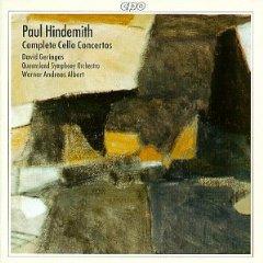 Hindemith - Cello Concertos