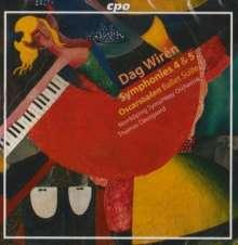 Dag Wirén: Symphonies Nos. 4 & 5