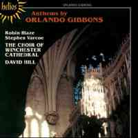 Gibbons - Anthems and Verse Anthems