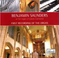 Benjamin Saunders at the Organ of Leeds Cathedral