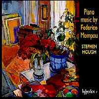Piano Music by Federico Mompou