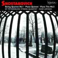 Shostakovich: String Quartet No. 1 in C Major, Op. 49, etc.