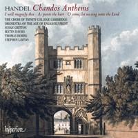 Handel: Chandos Anthems Nos 5a, 6a & 8