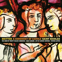 Britten: A Ceremony of Carols & St Nicolas