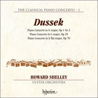 The Classical Piano Concerto 1: Dussek