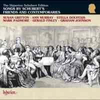 Songs by Schubert's friends and contemporaries