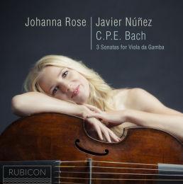 CPE Bach: 3 Sonatas for Viola da Gamba