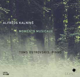 Alfreds Kalnins. Moments Musicaux