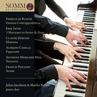 Julian Jacobson & Mariko Brown: Piano Duo