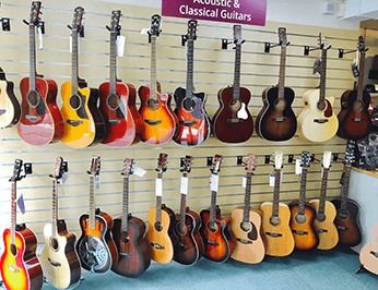 Classical and Acoustic guitars
