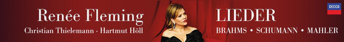 Schumann, Brahms, Mahler - Lieder: Renée Fleming